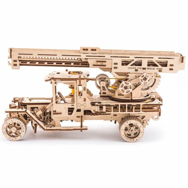 Camion Echelle Ugears – Puzzle 3d en bois + 3