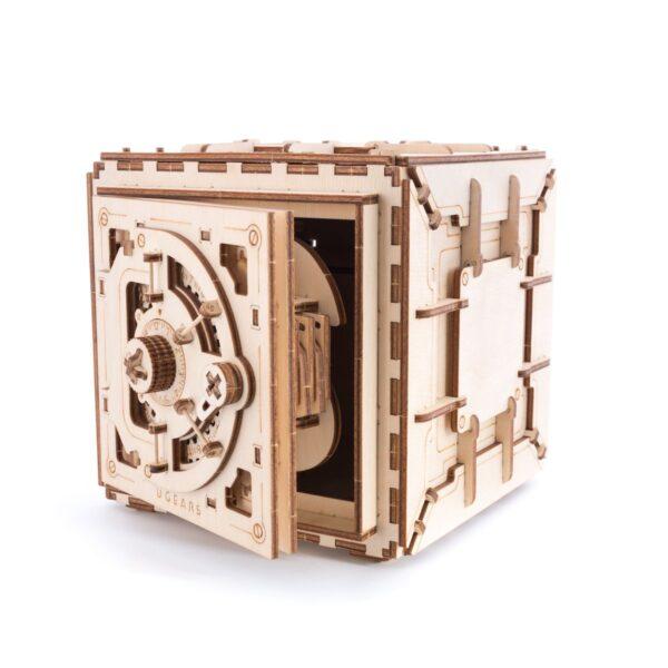 Coffre-Fort Ugears – Puzzle 3d en bois + 2