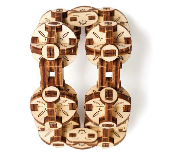Flexi-Cube Ugears – Puzzle 3d en bois + 2