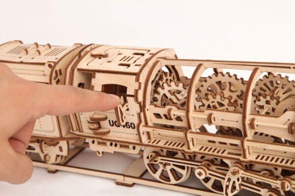 Locomotive 460 UGEARS – Puzzle 3d Mécanique + 2
