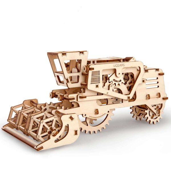 Moissonneuse-batteuse – Puzzle 3d Mécanique en bois – Ugears France