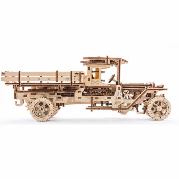 Camion UGM 11 – Puzzle 3d Mécanique En Bois – Ugears France + 2
