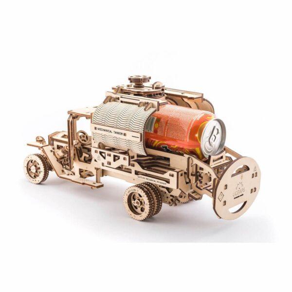 Camion Citerne – Puzzle 3d Mécanique en bois – Ugears France + 1