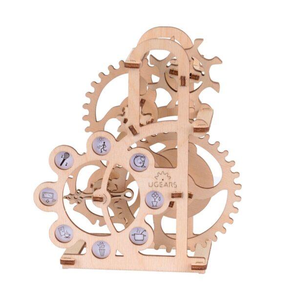 Dynamomètre – Puzzle 3d Mécanique en bois – Ugears France + 2