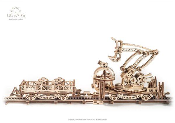 Manipulateur Ferroviaire – Puzzle 3d Mécanique en bois – Ugears France + 3