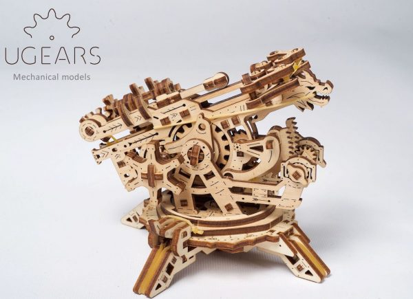 Arbalète à Tour – Puzzle 3D Mécanique – Ugears France + 1
