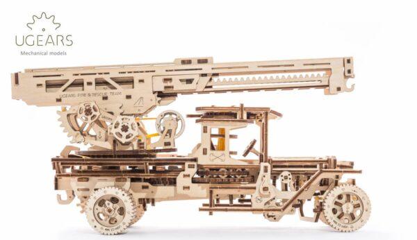 Camion Echelle Ugears – Puzzle 3d en bois + 2