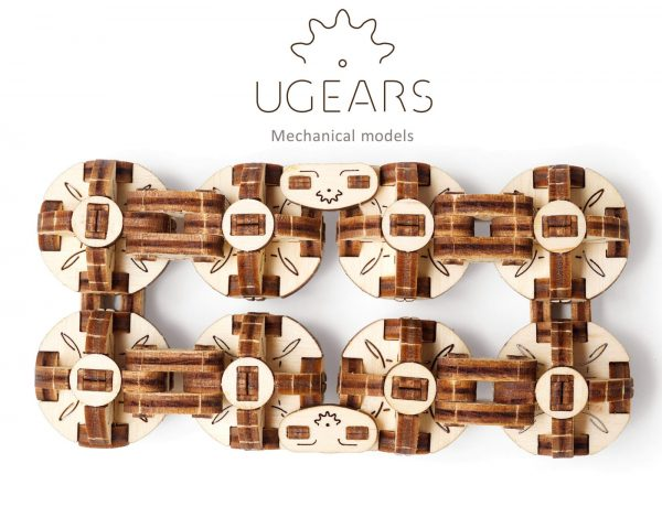 Flexi-Cube Ugears – Puzzle 3d en bois + 3