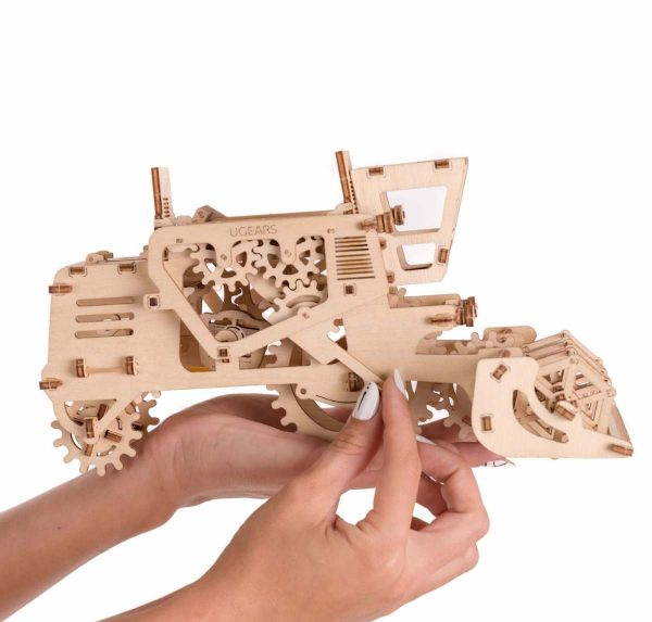 Moissonneuse-batteuse – Puzzle 3d Mécanique en bois – Ugears France + 2