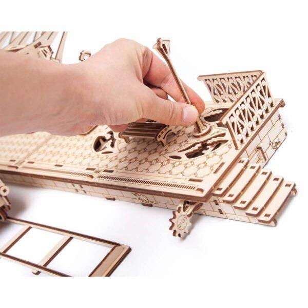 """Pack """"À la Conquête de l'Ouest"""" – Puzzles 3D Mécaniques – Ugears France + 7"""