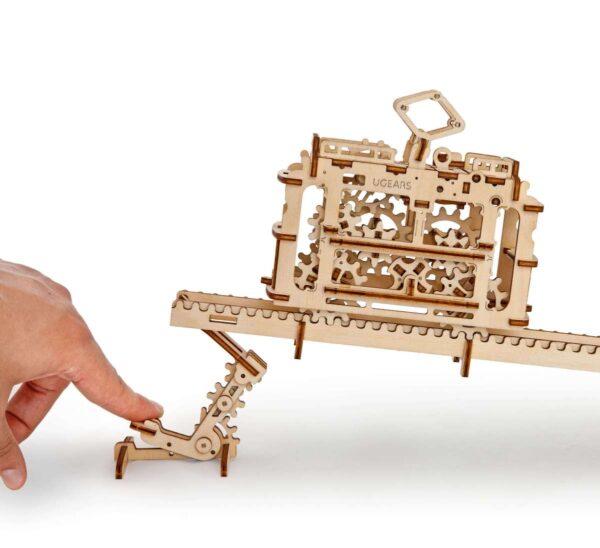 Tram – Puzzle 3d Mécanique en bois – Ugears France + 1