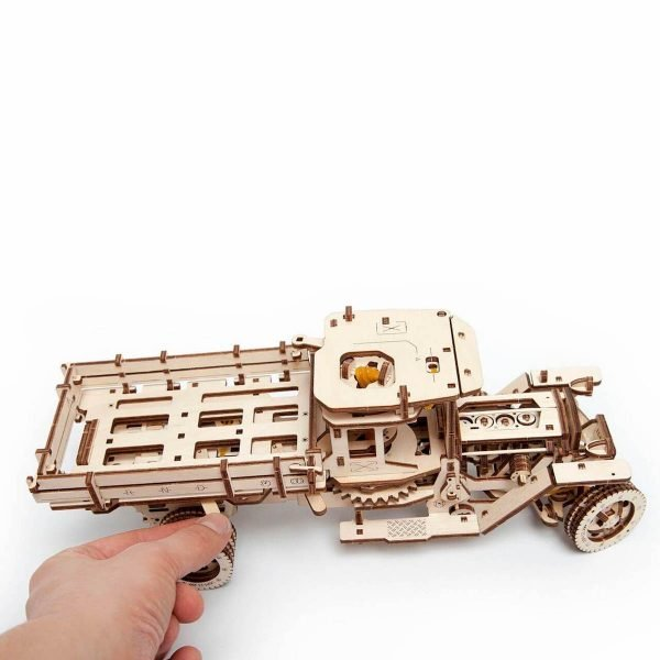 Camion UGM 11 – Puzzle 3d Mécanique En Bois – Ugears France + 1