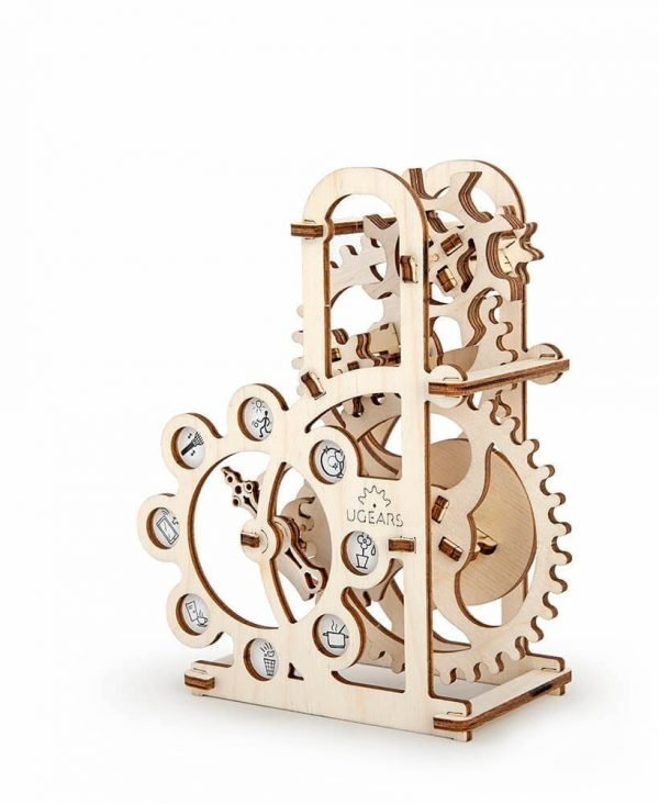 Dynamomètre – Puzzle 3d Mécanique en bois – Ugears France + 3