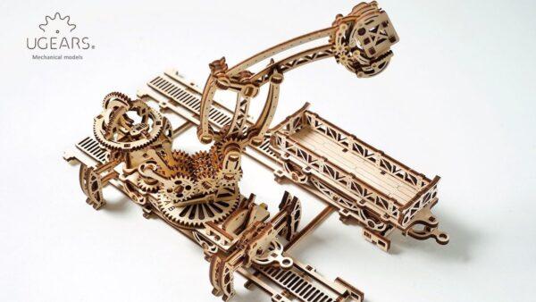Manipulateur Ferroviaire – Puzzle 3d Mécanique en bois – Ugears France + 2