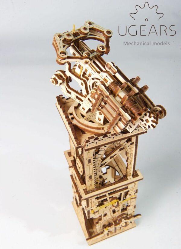 Arbalète à Tour – Puzzle 3D Mécanique – Ugears France + 3
