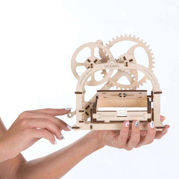 Boite mécanique – Puzzle 3d Mécanique en bois – Ugears France + 1
