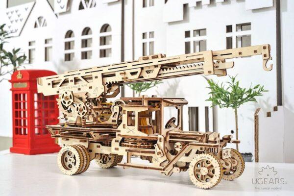 Camion Echelle Ugears – Puzzle 3d en bois + 4