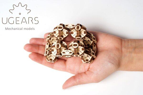 Flexi-Cube Ugears – Puzzle 3d en bois + 4