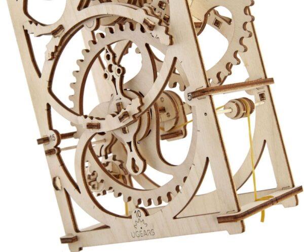 Minuteur 20min – Puzzle 3d Mécanique en bois – Ugears France + 1