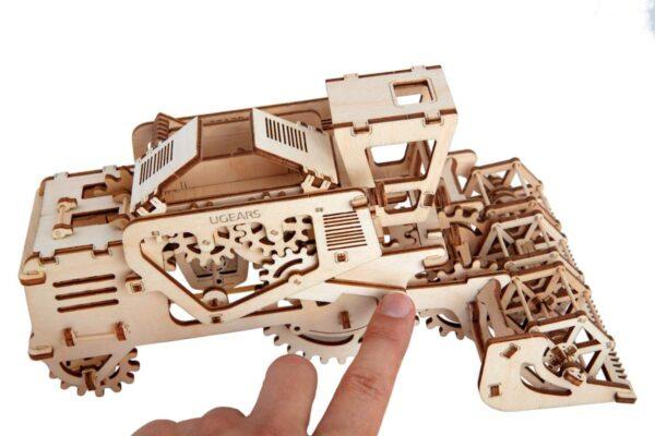 Moissonneuse-batteuse – Puzzle 3d Mécanique en bois – Ugears France + 1