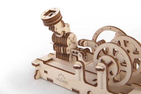 Moteur Pneumatique – Puzzle 3d Mécanique en bois – Ugears France + 3