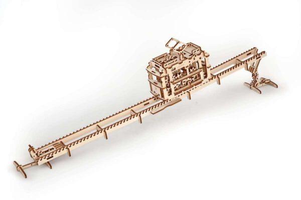 Tram – Puzzle 3d Mécanique en bois – Ugears France + 2