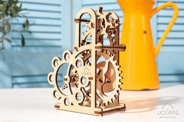 Dynamomètre – Puzzle 3d Mécanique en bois – Ugears France + 4