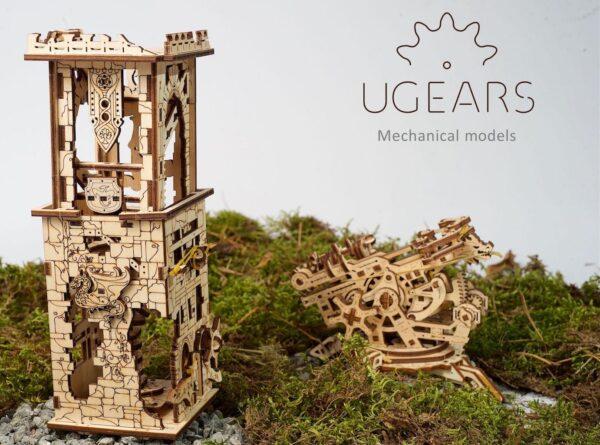 Arbalète à Tour – Puzzle 3D Mécanique – Ugears France + 4