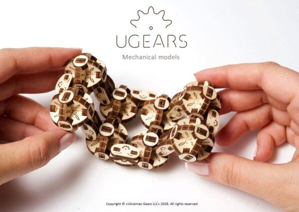 Flexi-Cube Ugears – Puzzle 3d en bois + 1