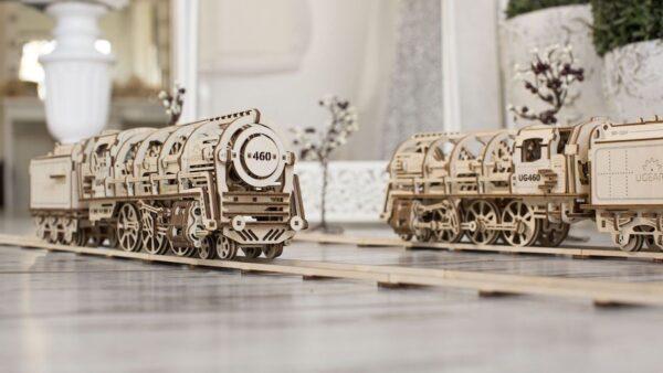 Locomotive 460 UGEARS – Puzzle 3d Mécanique + 6