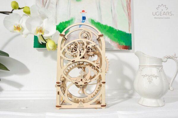 Minuteur 20min – Puzzle 3d Mécanique en bois – Ugears France + 6
