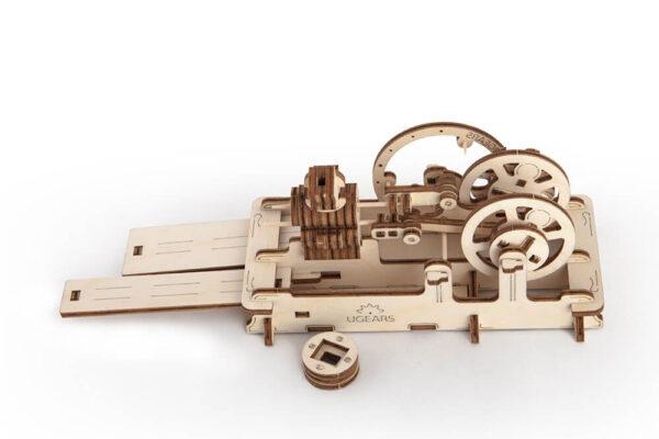 Moteur Pneumatique – Puzzle 3d Mécanique en bois – Ugears France + 4