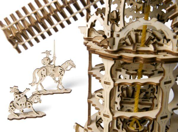 Moulin à Vent Ugears – Puzzle 3d en bois + 1