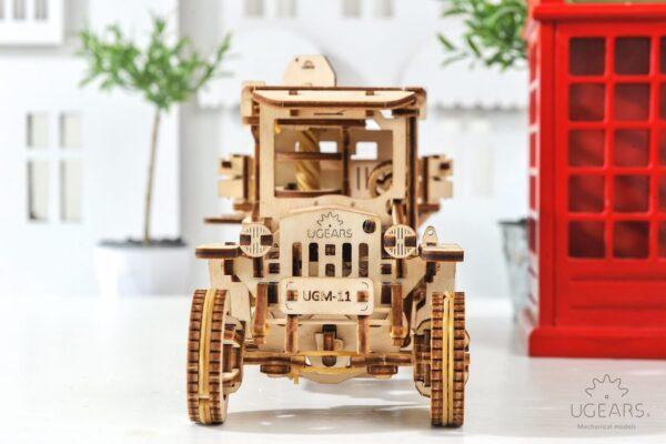 """Pack """"Rouler des Mécaniques"""" – Puzzles 3D Mécaniques – Ugears France + 3"""