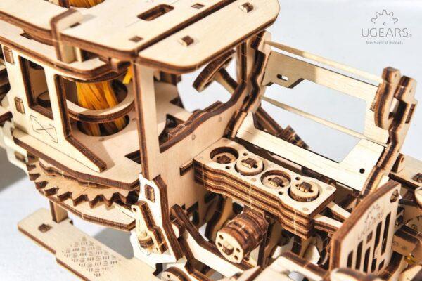 Camion Citerne – Puzzle 3d Mécanique en bois – Ugears France + 2