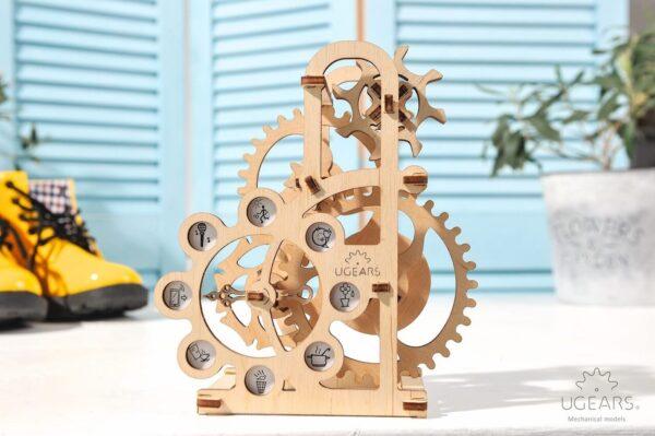 Dynamomètre – Puzzle 3d Mécanique en bois – Ugears France + 5
