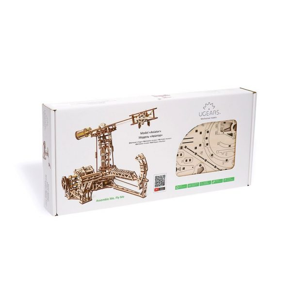 Aviator Ugears – Puzzle 3d en bois + 5