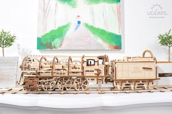 Locomotive 460 UGEARS – Puzzle 3d Mécanique + 5
