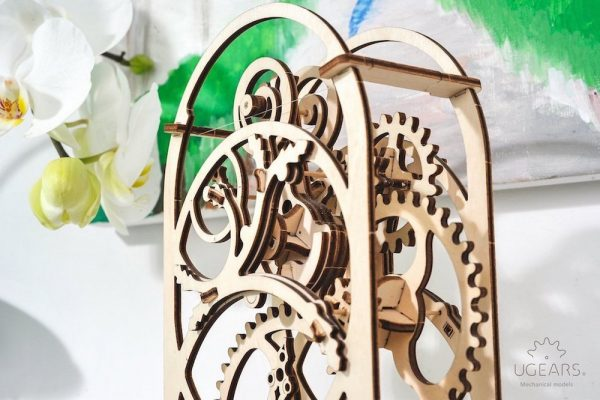 Minuteur 20min – Puzzle 3d Mécanique en bois – Ugears France + 4
