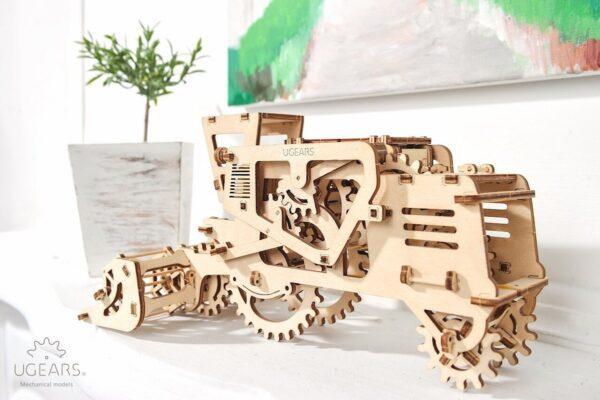 Moissonneuse-batteuse – Puzzle 3d Mécanique en bois – Ugears France + 5