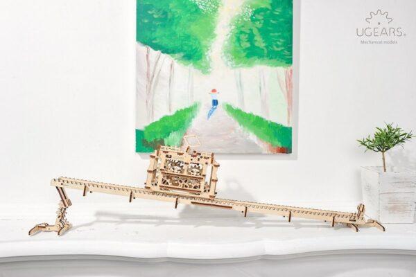Tram – Puzzle 3d Mécanique en bois – Ugears France + 5