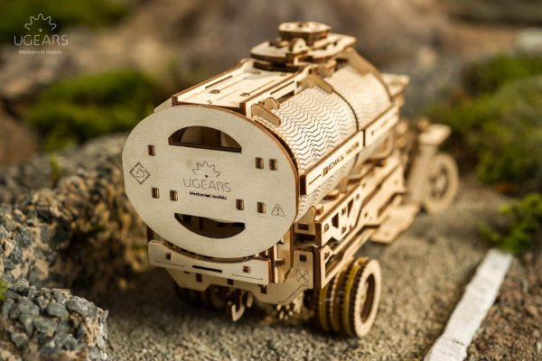 Camion Citerne – Puzzle 3d Mécanique en bois – Ugears France + 6