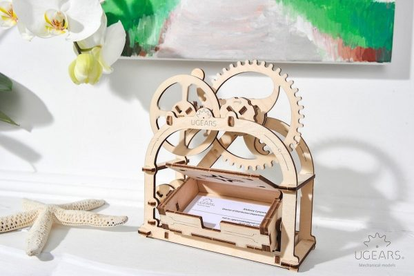 Boite mécanique – Puzzle 3d Mécanique en bois – Ugears France + 3