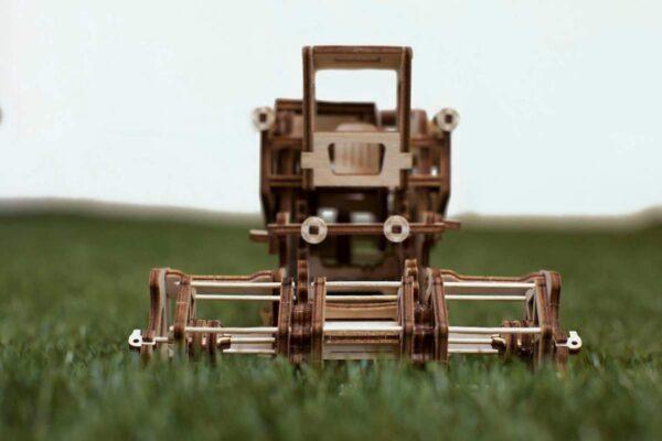 Moissonneuse-batteuse – Puzzle 3d Mécanique en bois – Ugears France + 6