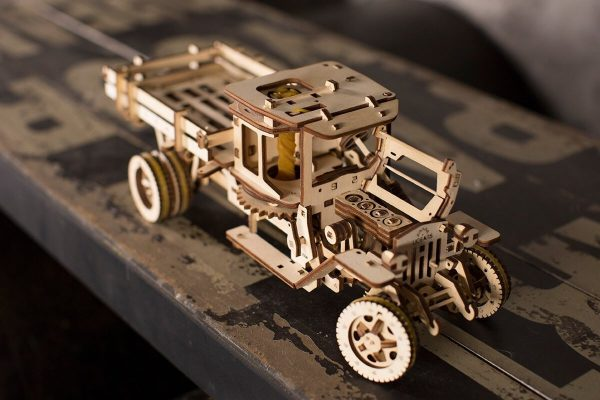 Camion UGM 11 – Puzzle 3d Mécanique En Bois – Ugears France + 6