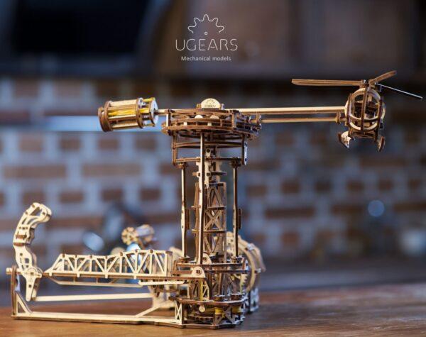 Aviator Ugears – Puzzle 3d en bois + 6