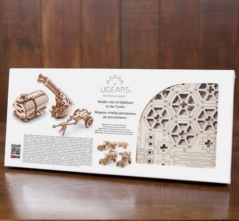 """Pack """"Rouler des Mécaniques"""" – Puzzles 3D Mécaniques – Ugears France + 11"""
