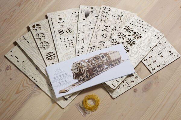 Locomotive 460 UGEARS – Puzzle 3d Mécanique + 8