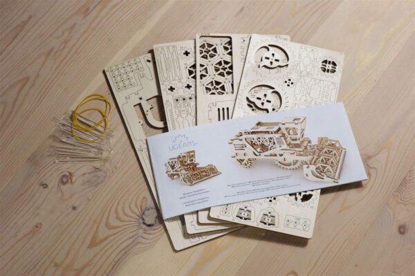 Moissonneuse-batteuse – Puzzle 3d Mécanique en bois – Ugears France + 7