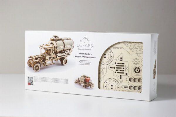 Camion Citerne – Puzzle 3d Mécanique en bois – Ugears France + 8